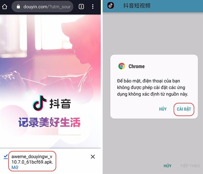 Hướng dẫn tải Douyin nhanh nhất có thể trên Android